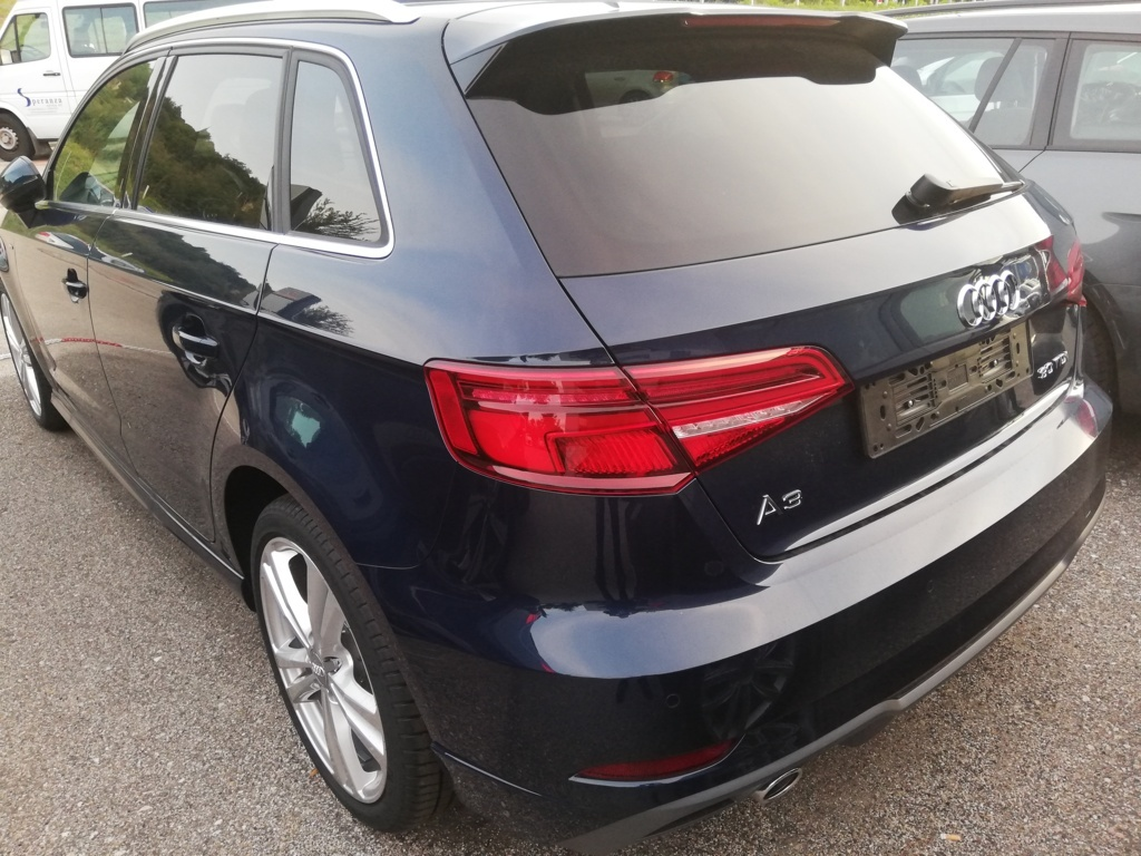A3 SPORTBACK ADMIRED 30 TDI 85KW 116 CV S-TRONIC